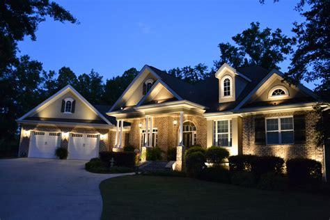 exterior landscape lighting exterior and landscape lighting designer macon lawnworks