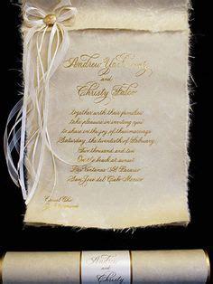 scroll wedding invitations in dubai princess scroll invitation ideas for decor