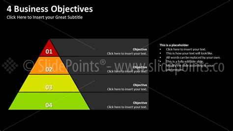 templates for business objectives business objectives powerpoint slidepoints
