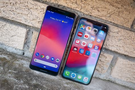 pixel 3 vs apple iphone xs