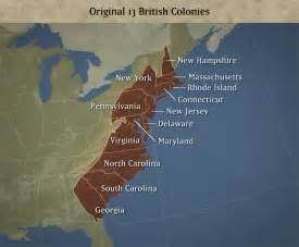 America 13 Colonies Map by Thirteen Colonies New Calendar Template Site