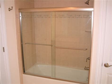 bathtub shower enclosure semi frameless shower enclosures