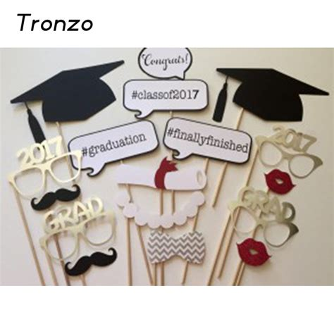 lips photo booth props graduation party idea s tronzo 2017 new graduation photo booth props 17pcs set