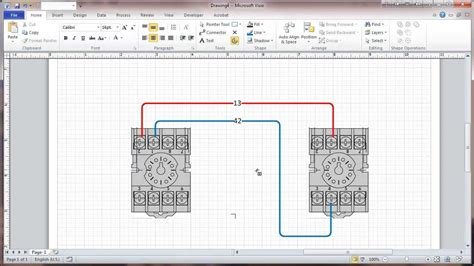 visio 2010 connectors and connection points tutorial