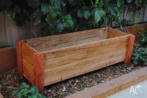 Wooden Planter Boxes For Sale by Planter Boxes Timber Wood Wooden Outdoor Herb For Sale In Cheltenham Classified