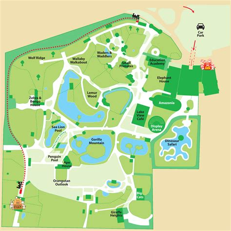 zoo map simple zoo map for www pixshark images galleries with a bite