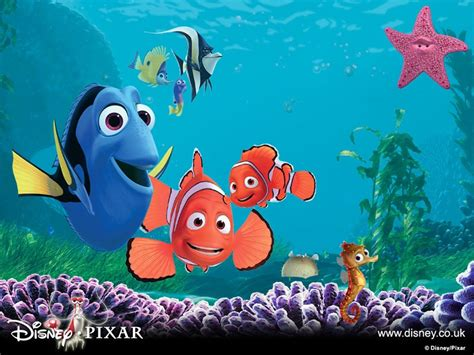 wallpaper animasi nemo wallpaper bergerak gif