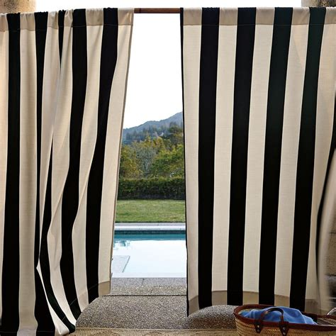 black outdoor curtains 162 best images about black and white stripe on pinterest