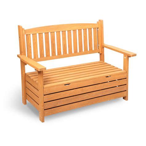 wooden outdoor storage bench buy wooden outdoor storage bench online at ikoala com au