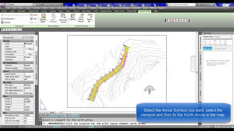 rotate layout viewport autocad rotate viewport map by the north arrow youtube
