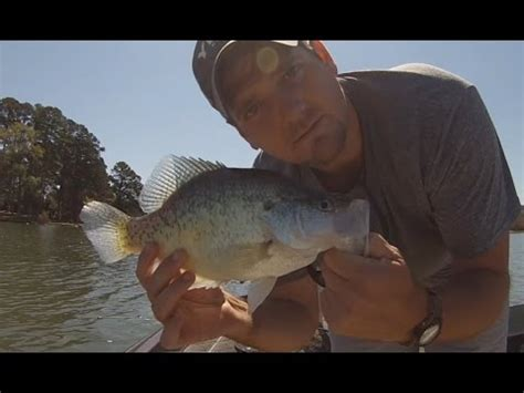spring slab crappie fishing arkansas crappie fishing