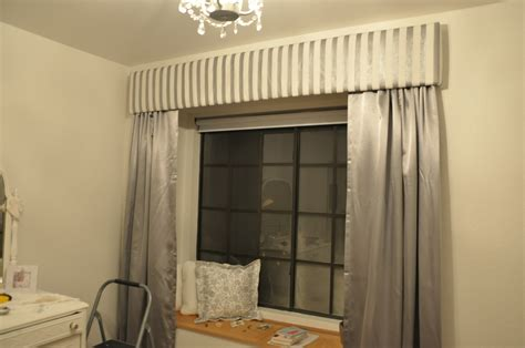 diy valance curtain dream it yourself diy stripes our dream foreclosure