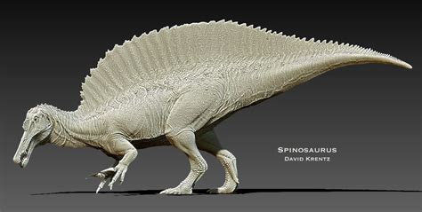 Or Krentz David Krentz 3d Spinosaurus And 3d