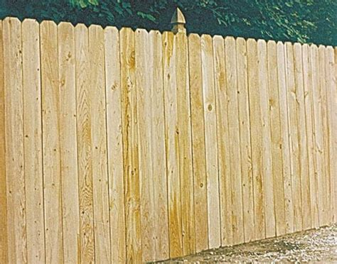 Cedar Fence Sections by Universal Forest 4628 1x4 Privacy Cedar Fence Section At