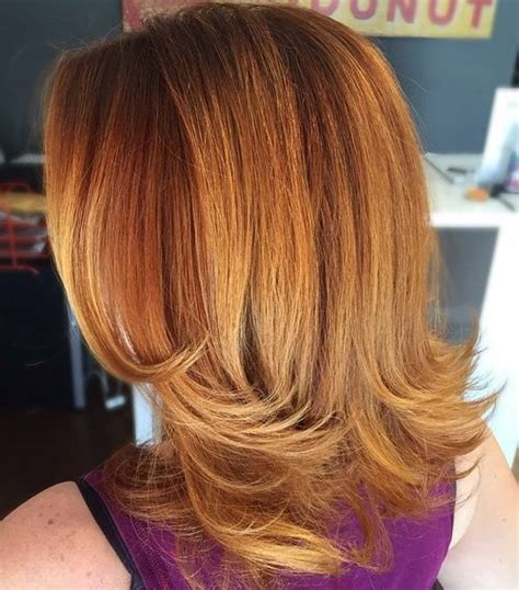 medium length flipped up hairstyles 40 best medium straight hairstyles and haircuts stylish