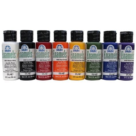 where to buy paint folk art enamel paint bottle plaid from craftyarts co uk uk