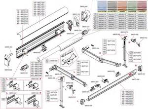 rv awning parts diagram car interior design