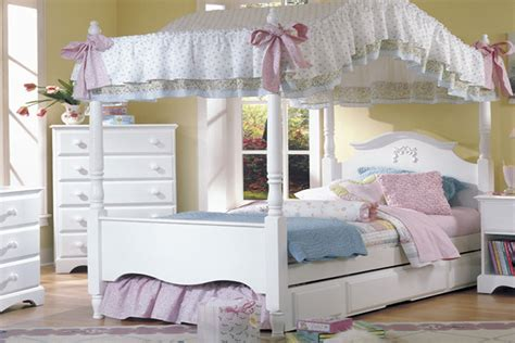 princess full size bed princess bed with canopy and trundle full size ebay