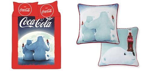 coca cola bedding primark home coca cola christmas polar bear duvet bedding