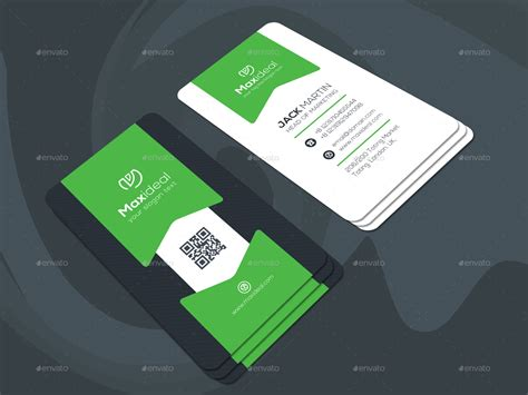 Card Preview by Maxideal Next Corporate Business Cards By Dhushargraph