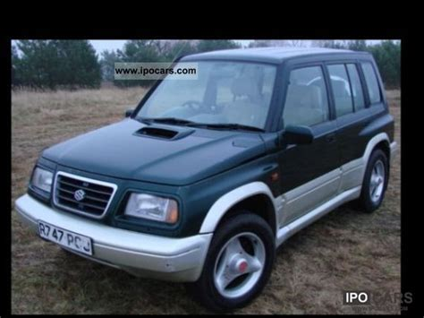 Suzuki Vitara 1998 1998 Suzuki Vitara 2 0 Td Right Car Photo And Specs