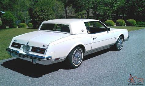 1984 buick riviera 1984 buick riviera 24 000 mi garage