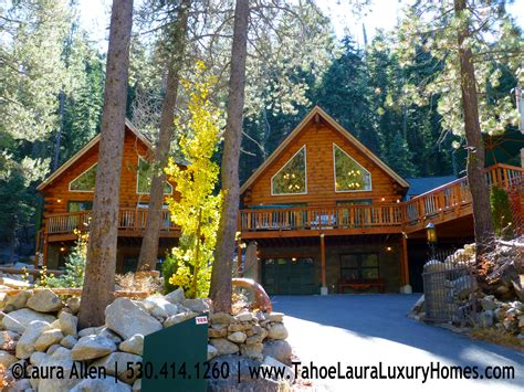 lake houses in california luxury newer construction mountain homes for sale donner lake ca