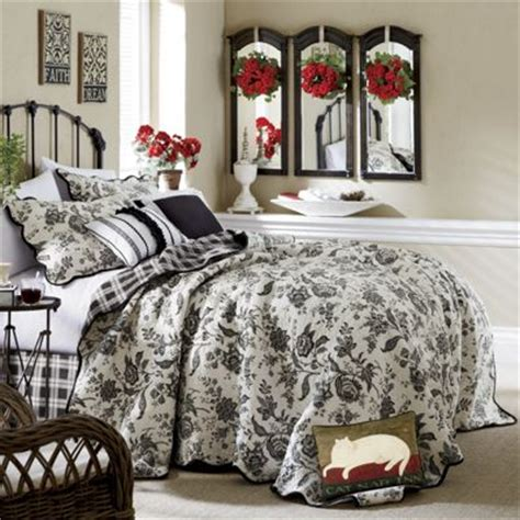 Countrydoor Quilts by Nanci Oversized Reversible Quilt Sham Pillows From