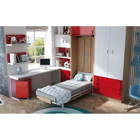 camas literas con escritorio dormitorios con literas abatibles horizontales
