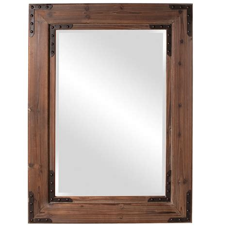 rectangle mirror caldwell wood rectangle mirror howard elliott collection wall mirror wall mirrors