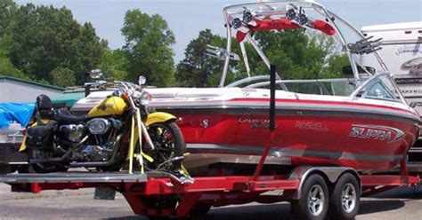 tow for boat trailer hitch carrier for dirtbike and boat trailer boats
