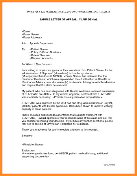 Dispute Letter Of Administration 7 sle appeal letter for reconsideration mystock clerk