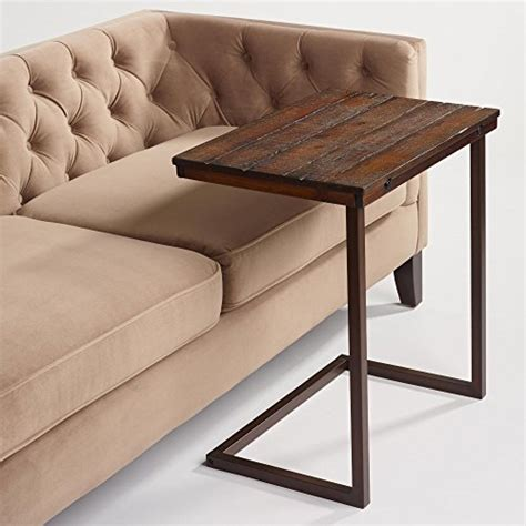 laptop table sofa world market wood laptop table for recliner and sofa