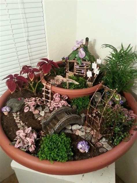 How To Create A Miniature Garden Home Design Garden Miniature Gardens Ideas