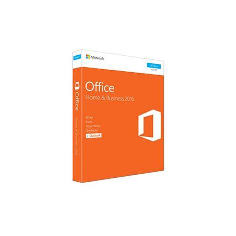 Office Home Student 2016 For Pc Microsoft Office Home And Student 2016 Licence 1 Pc