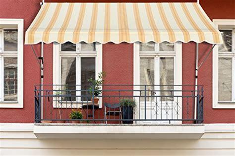 balkon klemm markise premium balkon klemm markise 3 x 1 2 m test