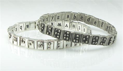How Do Blind Find Braille Signs Award Winning Braille Bracelet Looks Feels Even Better Wired