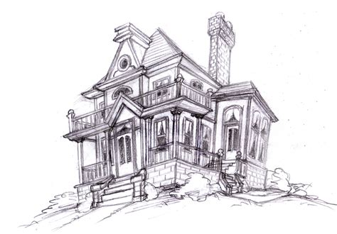 house sketch magellin blog an old house sketch