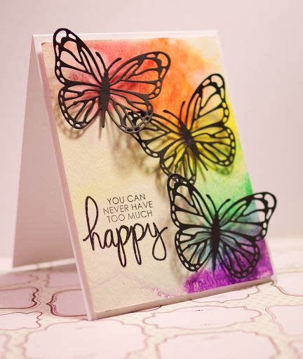 Handmade Wishing Cards - 4 wishing watercolor handmade cards new collection 16