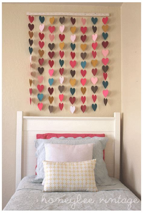Diy Bedroom Wall Decor by 6 Diy Bedroom Wall Ideas Shopgirl