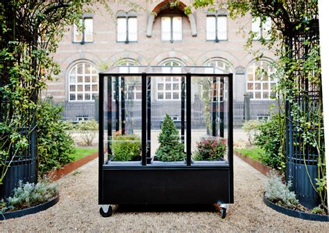 mobile greenhouse a mobile greenhouse for city dwellers living in a shoebox