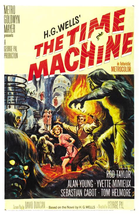 Time Machine Poster the geeky nerfherder poster the time machine 1960