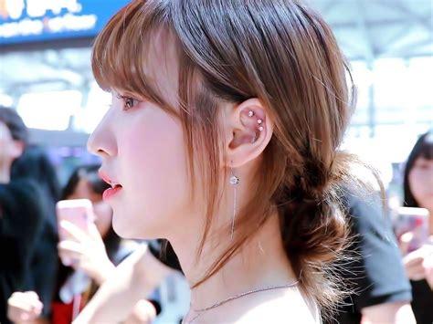 fans compile unique ear piercings  numerous  pop female