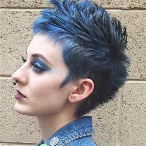 spikey mohawks 70 most gorgeous mohawk hairstyles of nowadays