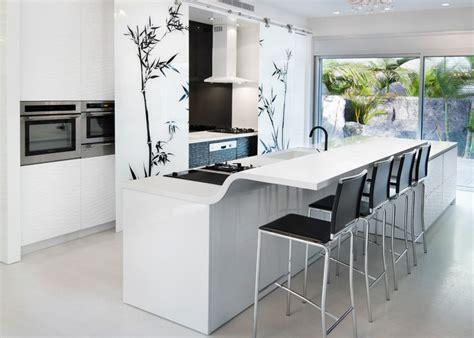 White Flower Kitchen by 26 Contemporary Kitchen Designs Decorating Ideas