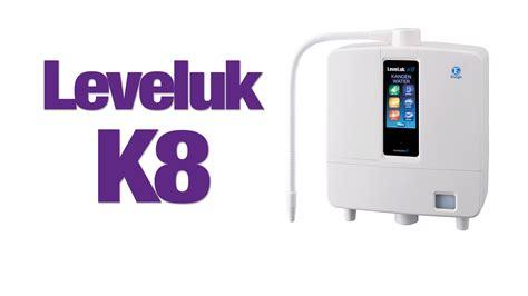 Mesin Kangen Water Leveluk K8 enagic leveluk k8 review kangenwaterhq