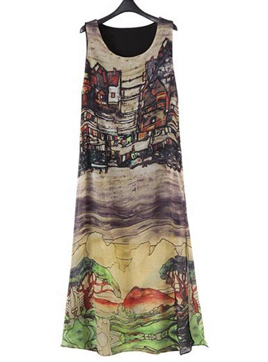 Print Midi Sundress plus size midi sundress tropical print