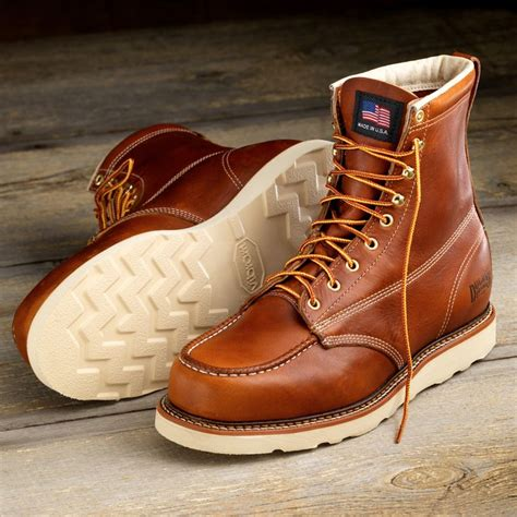 8 quot contractor s boots from duluth trading company are usa