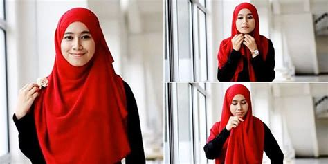 tutorial hijab syar i yang modis 8 tutorial jilbab menutup dada untukmu yang ingin bergaya