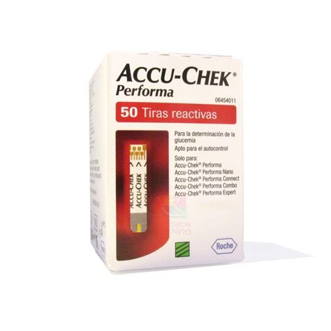 Accu Check Performa Isi 50 accu chek performa 50 test strips mexipharmacy pharmacy in mexico of brand name